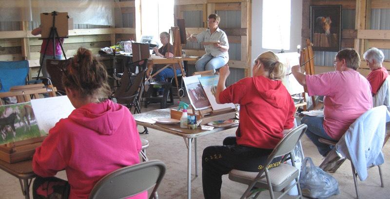 Lynn Maderich workshop